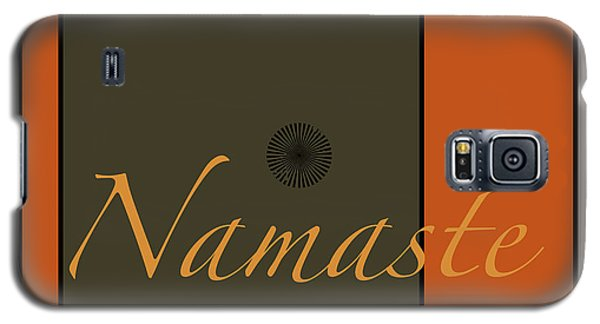Namaste Galaxy S5 Case by Kandy Hurley