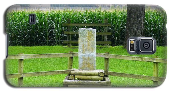 Name Marker In Youth Cemetery #1 Galaxy S5 Case by The GYPSY