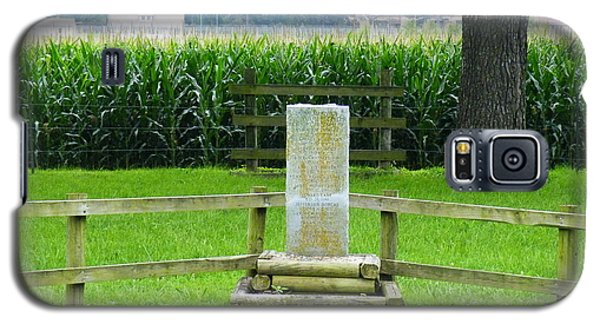 Name Marker In Youth Cemetery #1 Galaxy S5 Case