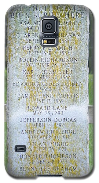 Name Marker In Youth Cemetery #2 Galaxy S5 Case