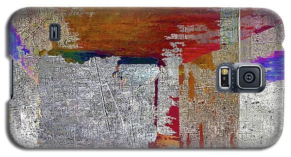 Galaxy S5 Case featuring the mixed media Name This Piece by Tony Rubino