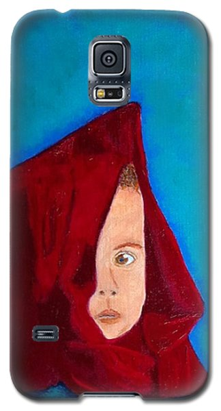 Galaxy S5 Case featuring the painting Nameless by Rod Jellison