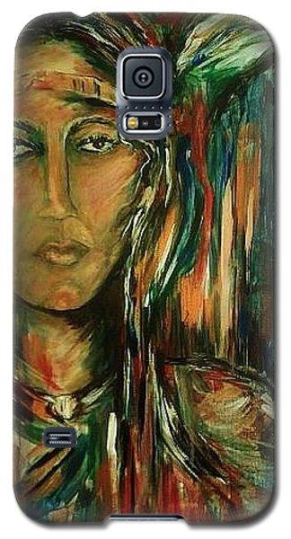 Nancy Ward Beloved Woman Nanye Galaxy S5 Case by Dawn Fisher