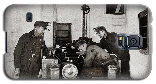 Nanticoke Pa Buttonwood Colliery Inman Shaft Glen Alden Coal Underground Motor Pit 1945 Galaxy S5 Case