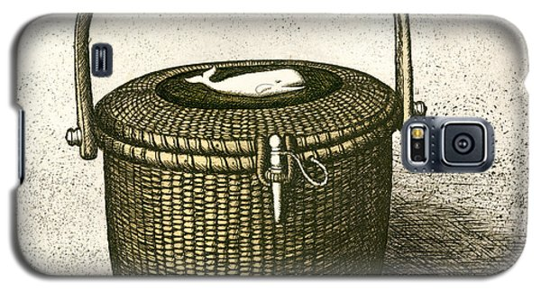 Nantucket Basket Galaxy S5 Case by Charles Harden