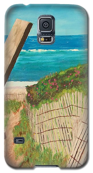 Galaxy S5 Case featuring the painting Nantucket Dream by Cynthia Morgan