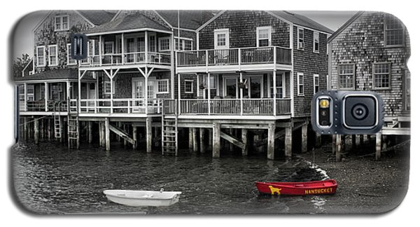 Nantucket In Bw Series 6139 Galaxy S5 Case