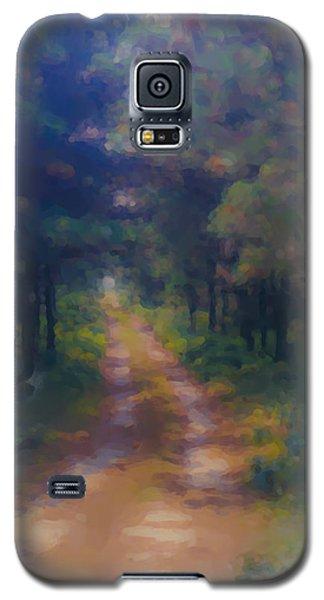 Nantucket Paths #1 Galaxy S5 Case