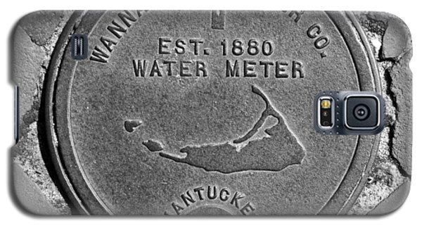 Nantucket Water Meter Cover Galaxy S5 Case by Charles Harden