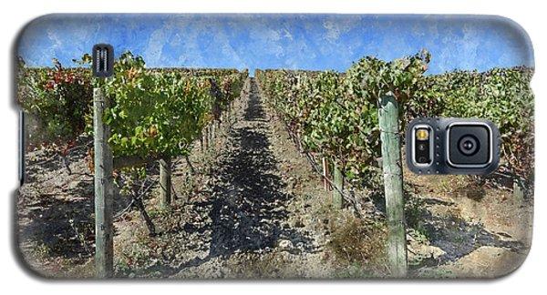 Napa Valley Vineyard - Rows Of Grapes Galaxy S5 Case
