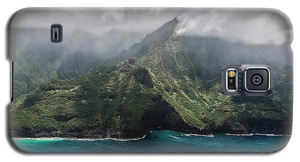 Napali Coast In Clouds And Fog Galaxy S5 Case