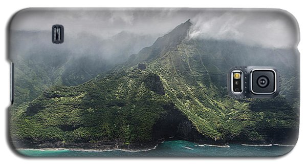 Napali Coast In Clouds And Fog Galaxy S5 Case