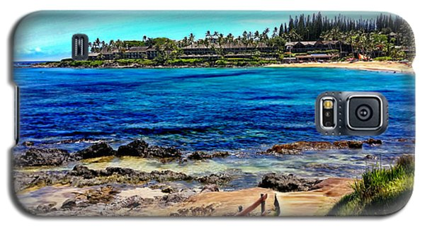 Napili Beach Gazebo Walkway Galaxy S5 Case
