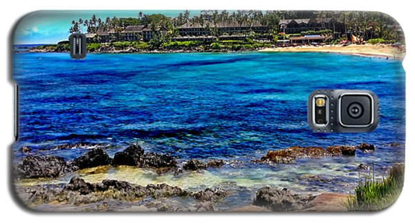 Napili Beach Gazebo Walkway Shower Curtain Size Galaxy S5 Case