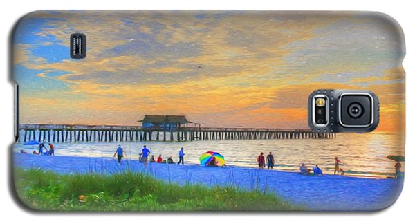 Naples Beach Galaxy S5 Case