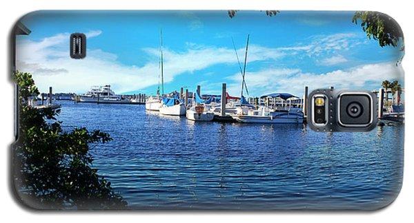 Naples Harbor Series 4054 Galaxy S5 Case