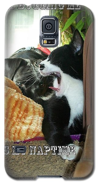 Galaxy S5 Case featuring the photograph Naptime by Jewel Hengen