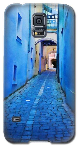 Narrow Blue Passage  Galaxy S5 Case