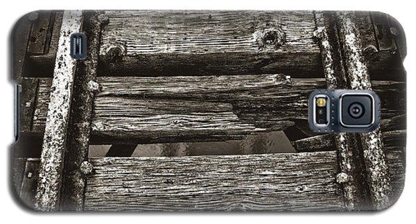 Narrow Gauge Tracks #photography #art #trains Galaxy S5 Case