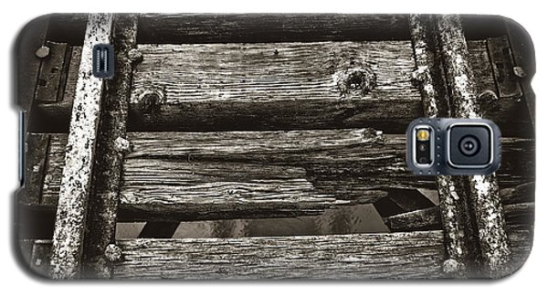 Narrow Gauge Tracks #photography #art #trains Galaxy S5 Case