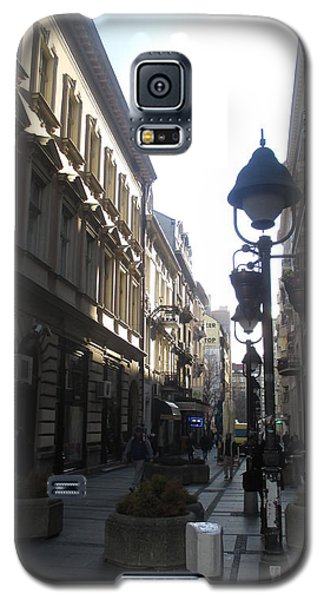 Sunny Galaxy S5 Case - Narrow Street by Anamarija Marinovic