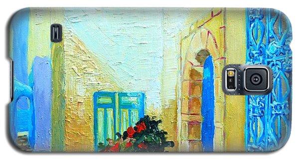 Narrow Street In Hammamet Galaxy S5 Case