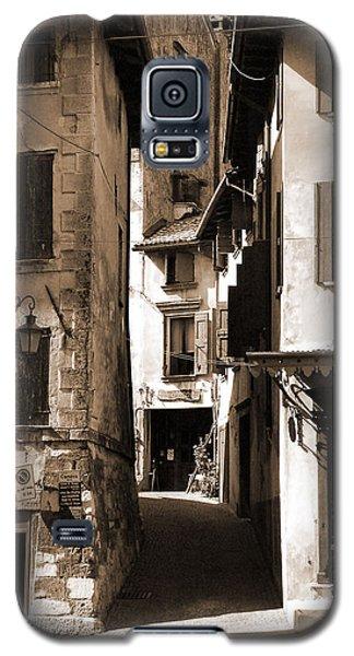 Narrow Streets Of Asolo Galaxy S5 Case