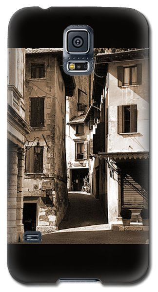 Narrow Streets Of Asolo Galaxy S5 Case