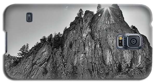 Galaxy S5 Case featuring the photograph Narrows Pinnacle Boulder Canyon by James BO Insogna