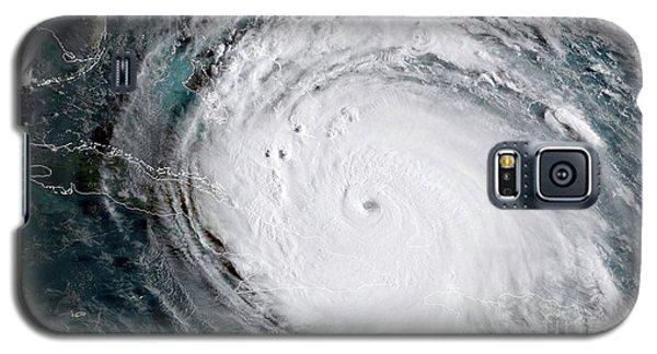 Nasa Hurricane Irma Satellite Image Galaxy S5 Case