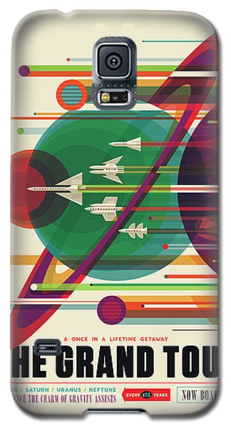 Nasa The Grand Tour Poster Art Visions Of The Future Galaxy S5 Case