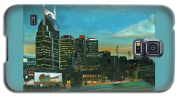 Nashville At Dusk Galaxy S5 Case