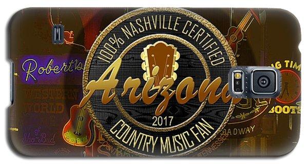 Nashville Certified Arizona Country Music Fan Galaxy S5 Case