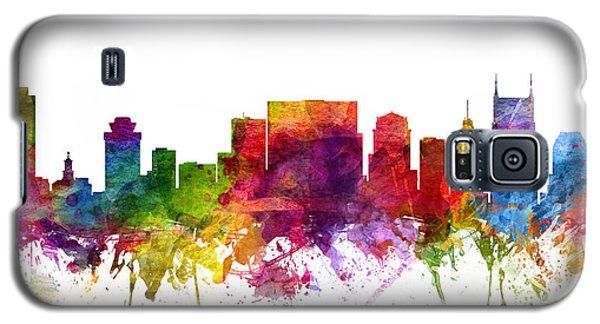 Nashville Cityscape 06 Galaxy S5 Case by Aged Pixel