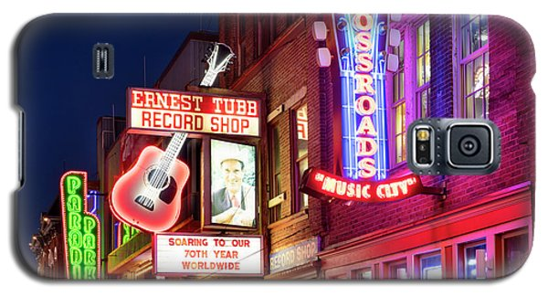 Galaxy S5 Case featuring the photograph Nashville Signs by Brian Jannsen