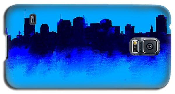 Nashville  Skyline Blue  Galaxy S5 Case by Enki Art