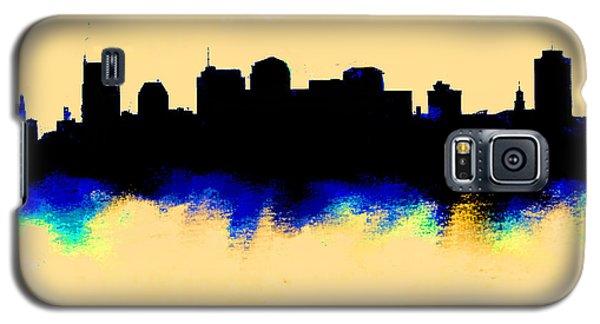 Nashville  Skyline  Galaxy S5 Case by Enki Art