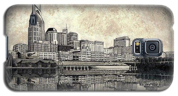 Nashville Skyline II Galaxy S5 Case by Janet King