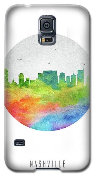 Nashville Skyline Ustnna20 Galaxy S5 Case by Aged Pixel
