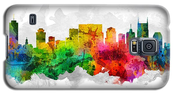 Nashville Tennessee Cityscape 12 Galaxy S5 Case