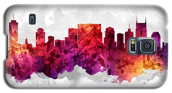 Nashville Tennessee Cityscape 14 Galaxy S5 Case