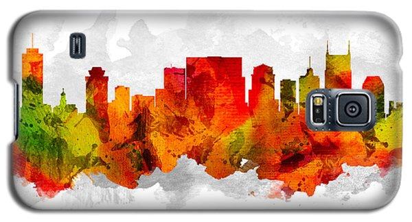 Nashville Tennessee Cityscape 15 Galaxy S5 Case