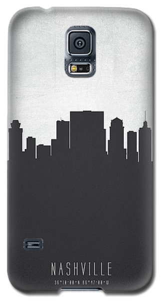 Nashville Tennessee Cityscape 19 Galaxy S5 Case by Aged Pixel