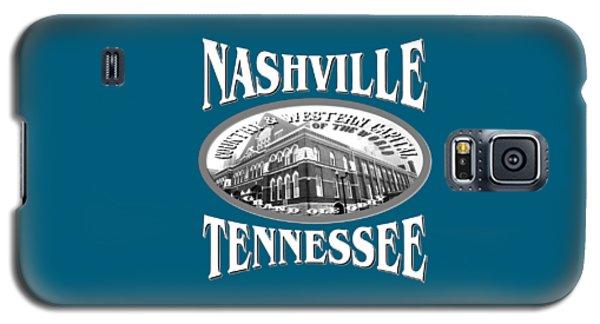 Nashville Tennessee Design Galaxy S5 Case