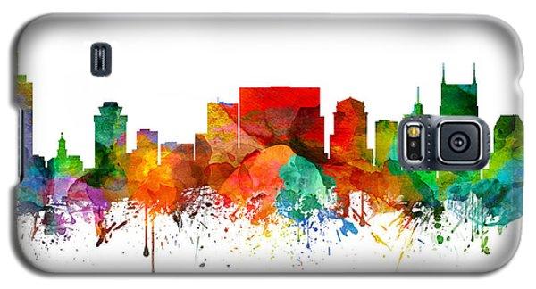 Nashville Tennessee Skyline 21 Galaxy S5 Case by Aged Pixel