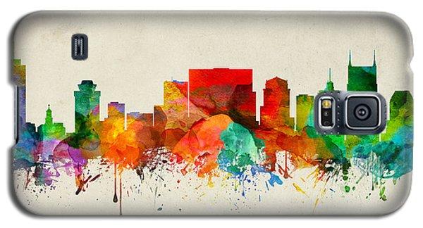 Nashville Tennessee Skyline 22 Galaxy S5 Case by Aged Pixel