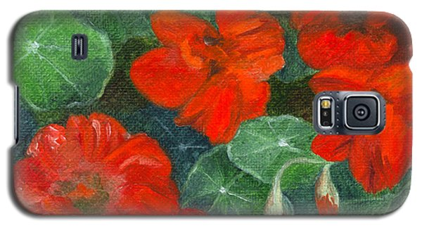 Nasturtiums Galaxy S5 Case