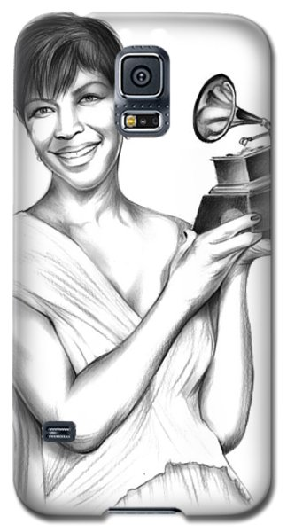 Rhythm And Blues Galaxy S5 Case - Natalie Cole by Greg Joens