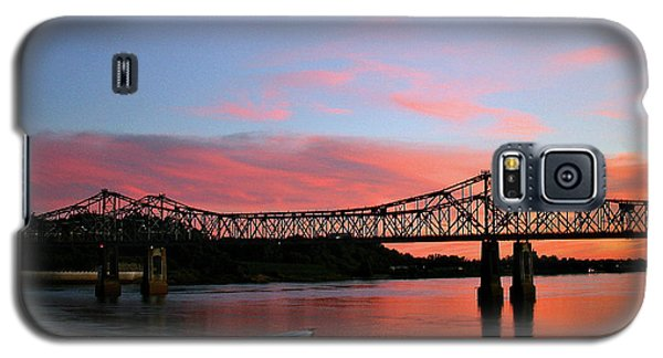 Natchez Sunset Galaxy S5 Case