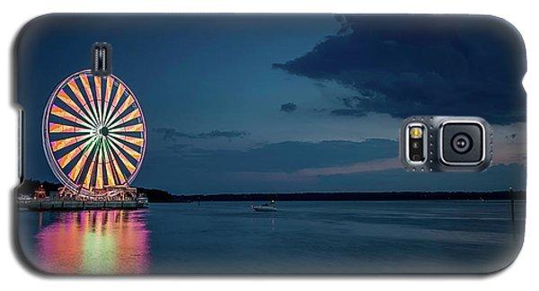 National Harbor Ferris Wheel Galaxy S5 Case